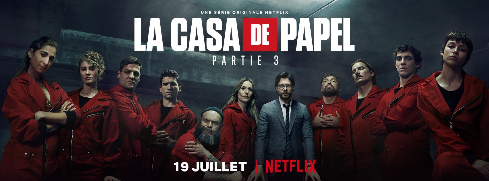 Série La Casa de Papel sur Netflix