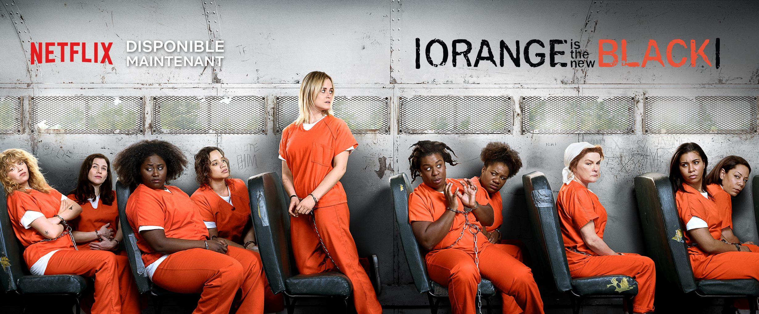 Série Orange is the new black sur Netflix
