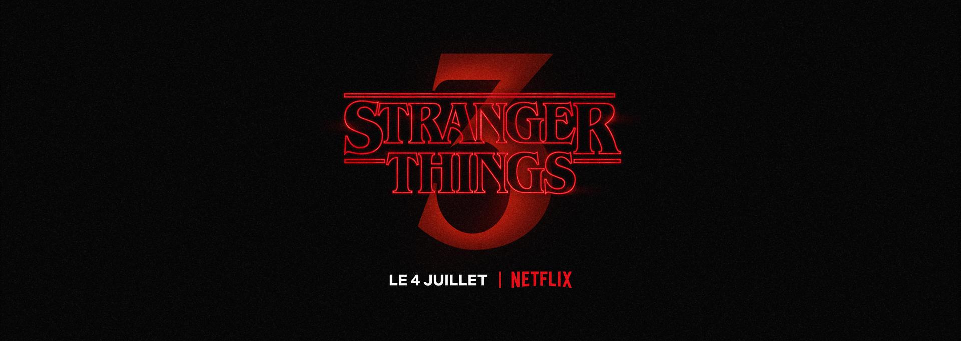 Strangers Things Saison 3 sur Netflix