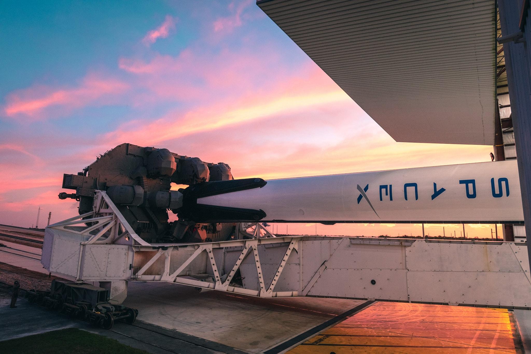 Fusée SpaceX de Elon Musk