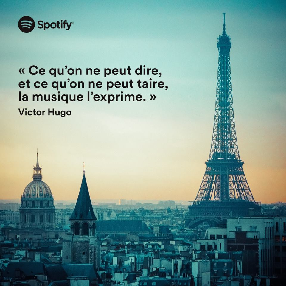 citation post facebook spotify france